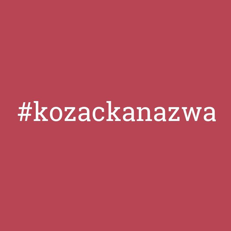 Kozacka nazwa. Nazwa firmy