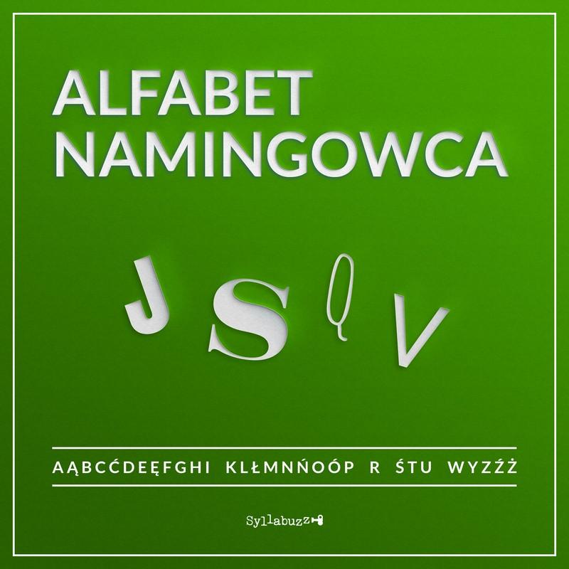 Alfabet namingowca J S Q V