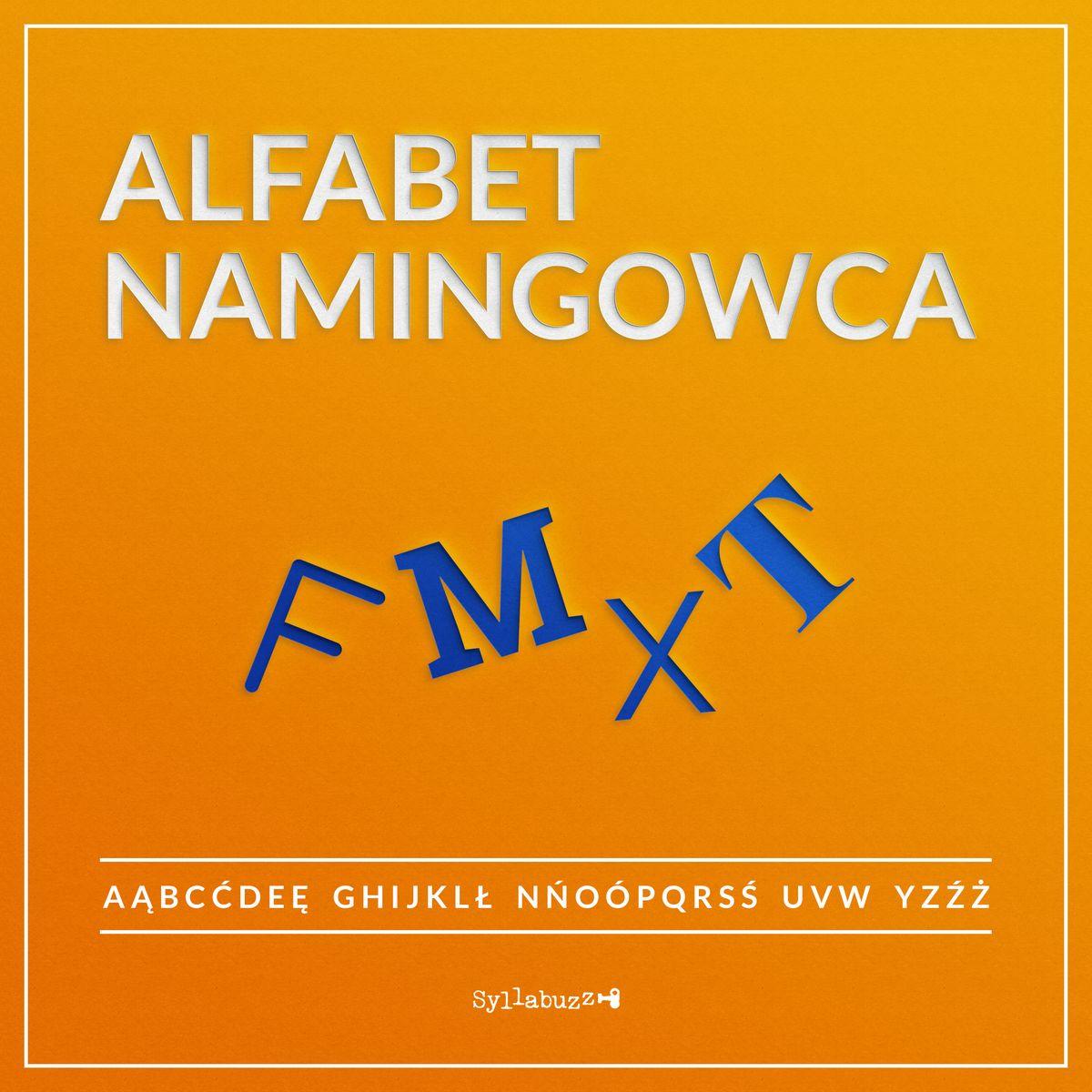 Alfabet namingowca F M T X, Konrad Gurdak, Syllabuzz.pl, agencja namingowa