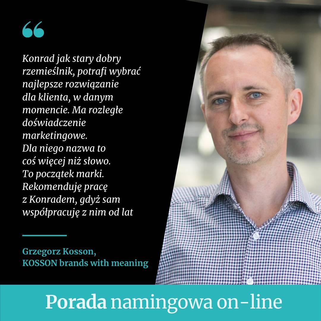 porada namingowa on-line, Konrad Gurdak, agencja namingowa Syllabuzz.pl